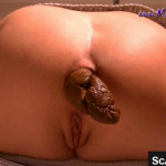 Pretty Girl With Amazing Ass Takes A Nice Shit For Us During Recorded Webcam Scene